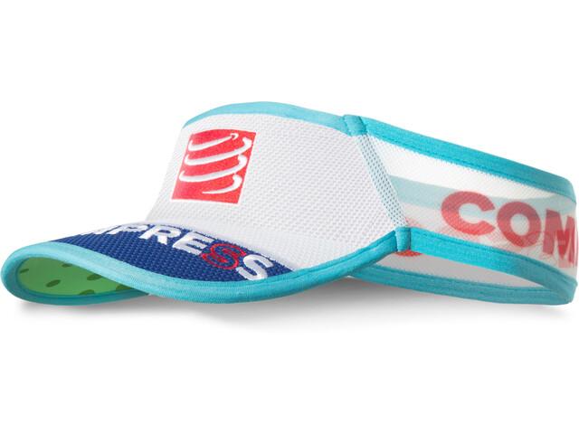 Compressport UltraLight Hoofdbedekking blauw/wit